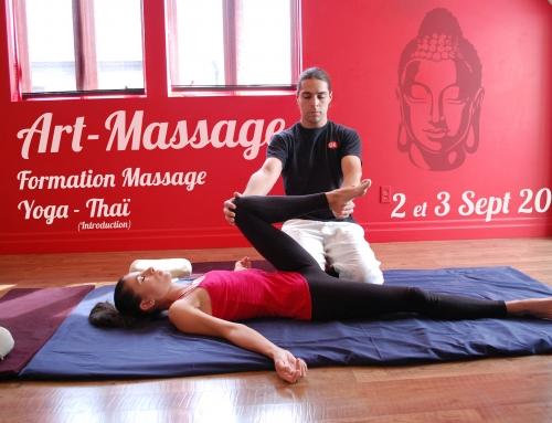 Formation Massage Yoga-Thaï