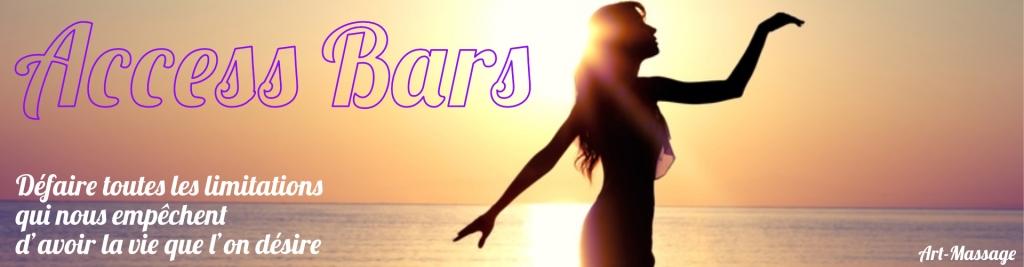 Access Bars de Access Consciouness maintenant offert par Art-Massage