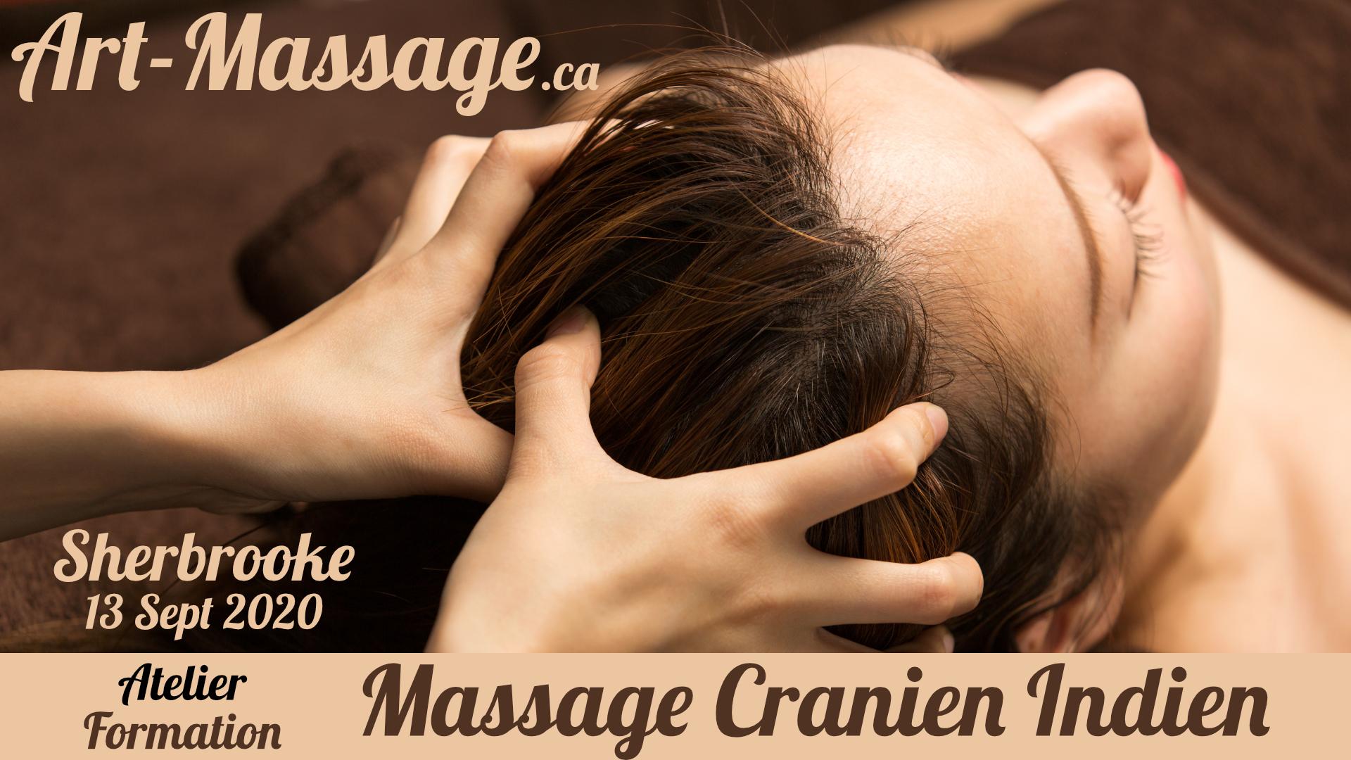 Massage Cranien Indien à Sherbrooke!