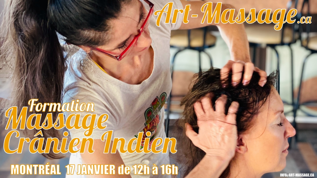 Formation Massage Cranien Indien avec Art-Massage
