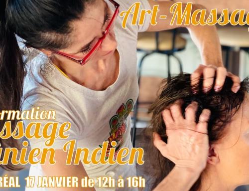 Massage Cranien Indien Montréal 06 Dec 2020