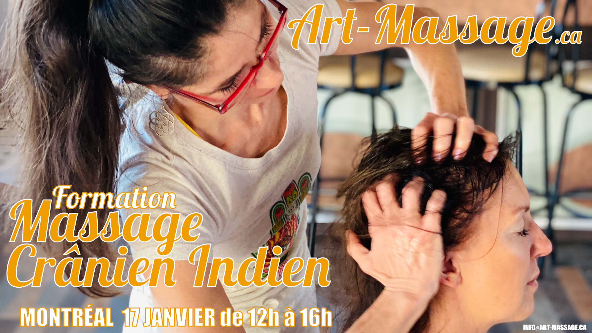 Formation Massage Cranien Indien avec Art-Massage