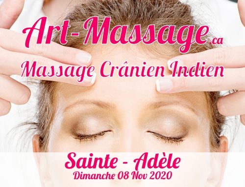 Massage Cranien Indien à Sainte Adèle le 08 Nov 2020